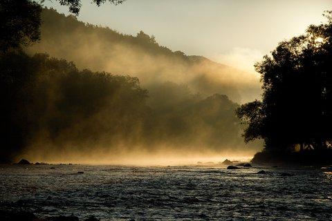 FOTKA - Mlha nad hladinou