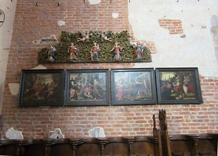 FOTKA - Gdaňsk..Kostel sv. Jana..staré obrazy