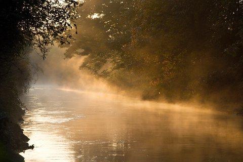 FOTKA - Ráno u řeky Bíliny