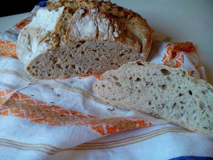 FOTKA - Domácí chleba bez hnětení