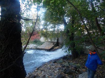 FOTKA - U mlýna Labe chrli vodu