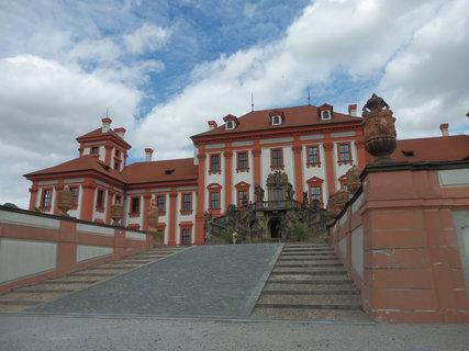 FOTKA - Trojský zámek jako malovaný....