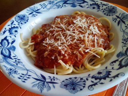FOTKA - Spagety s bolonskou omackou