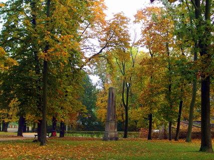 FOTKA - V podzimním parku