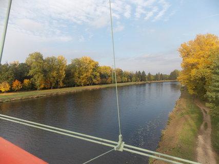 FOTKA - Pohled z mostu na Labe