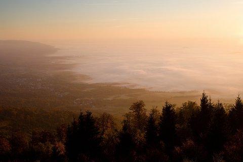 FOTKA - Ranní výhled ze Stropníku