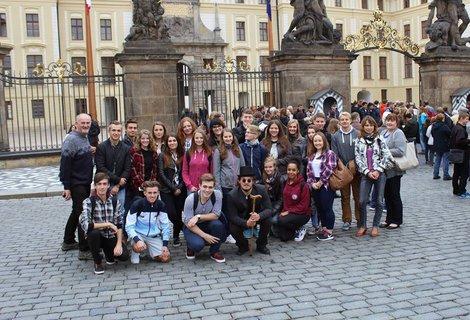 FOTKA - výlet s Angličany v Praze, užitý den