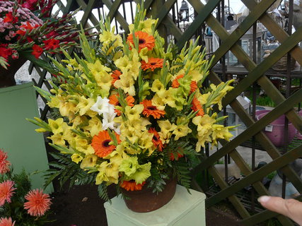 FOTKA - žlutooranžová kytice