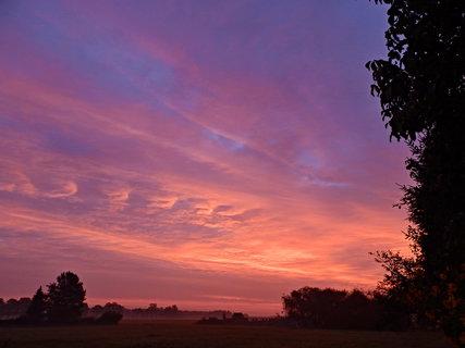 FOTKA - Slunce se vyspalo do růžova...