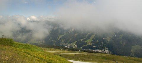 FOTKA - Výlet na Stubnerkogel - Mlha se pomalu trhá
