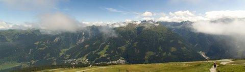 FOTKA - Výlet na Stubnerkogel - Panorama protějších hor