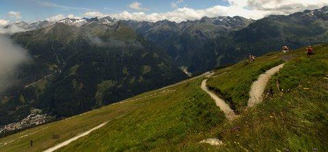 FOTKA - Výlet na Stubnerkogel - Cestička dolů