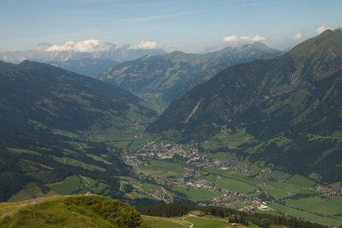 FOTKA - Výlet na Stubnerkogel - Pohled do údolí