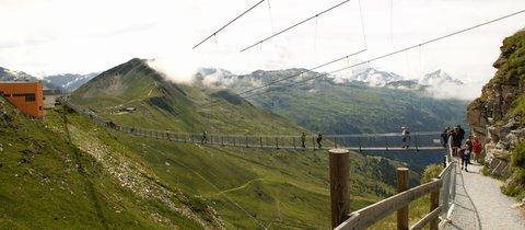 FOTKA - Výlet na Stubnerkogel - Visací most