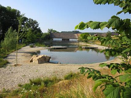 FOTKA - Sladkovodní expozice..Modrá..rybníček