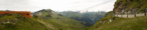 FOTKA - Výlet na Stubnerkogel - Panorama visacího mostu