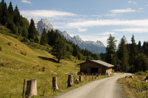 FOTKA - Schwarzleotal - Pohled zpátky