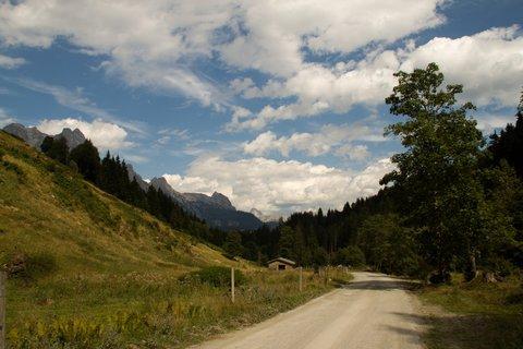 FOTKA - Schwarzleotal - Cestou zpátky