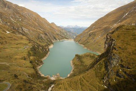 FOTKA - Vysokohorské přehrady nad Kaprunem - Wasserfallboden