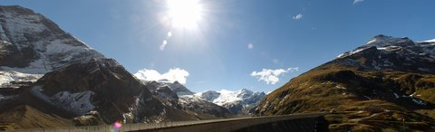 FOTKA - Vysokohorské přehrady nad Kaprunem - Proti slunci