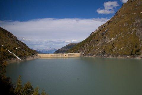FOTKA - Vysokohorské přehrady nad Kaprunem - Cestou dolů