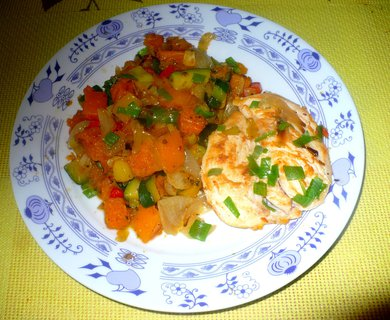 FOTKA - Kuřecí maso s různou zeleninou