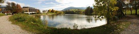 FOTKA - Kolem Ritzensee - Panorama jezera Ritzensee