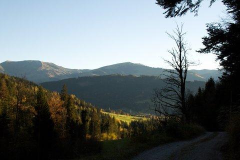 FOTKA - Procházka ke kapličce Kaseregg - Cestou zpátky