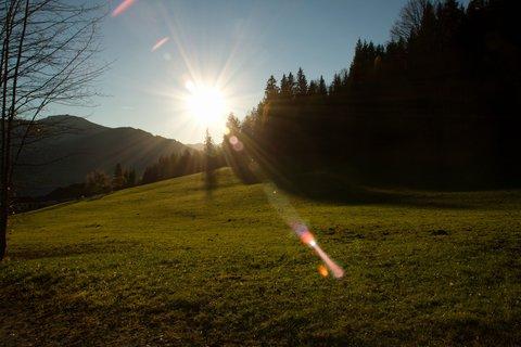 FOTKA - Procházka ke kapličce Kaseregg - Proti slunci