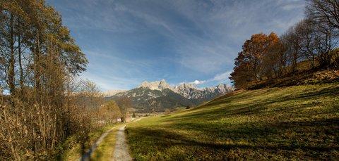 FOTKA - Na vyhlídku Kühbühel a okolo Ritzensee - Pohled zpátky