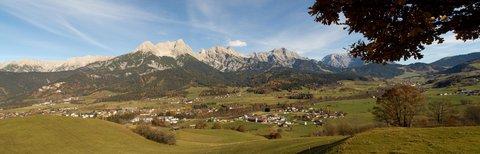 FOTKA - Na vyhlídku Kühbühel a okolo Ritzensee - Panorama Kamenného moře