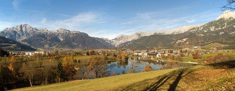 FOTKA - Na vyhlídku Kühbühel a okolo Ritzensee - Panorama Ritzensee