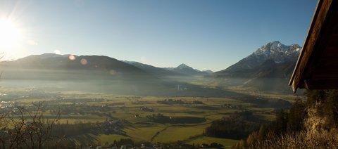 FOTKA - Prosincové Einsiedelei - Pohled k Leogangu