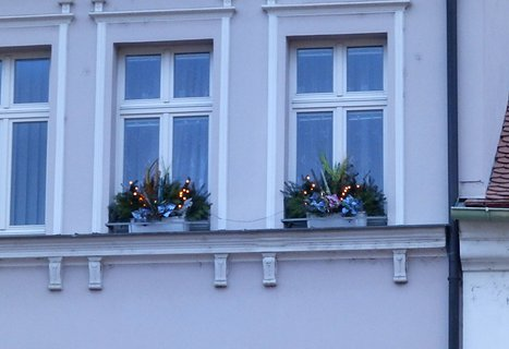 FOTKA - Moje vánoční výzdoba oken.