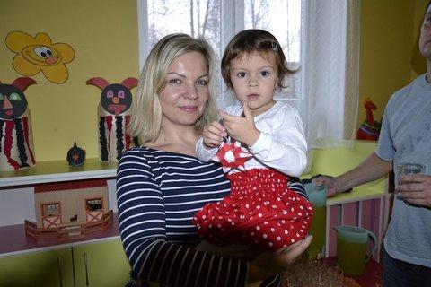 FOTKA - Sárinka s maminkou