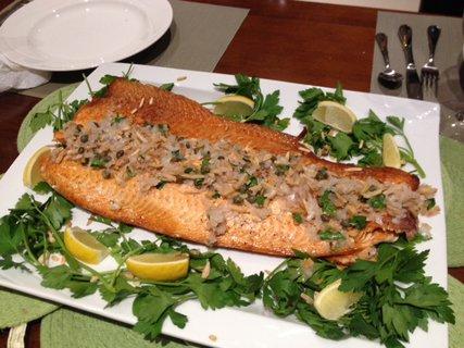 FOTKA - Losos k večeři