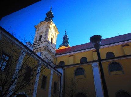 FOTKA - věž kostela ...UH