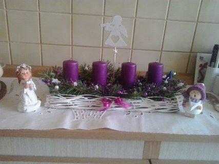 FOTKA - adventní svícen