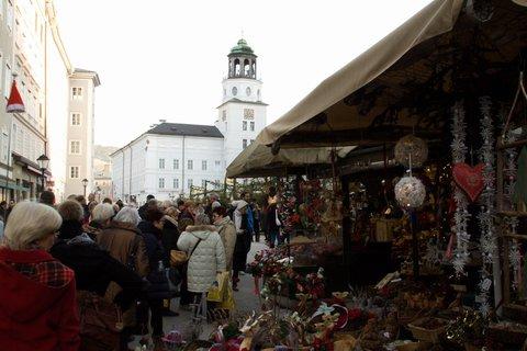 FOTKA - Adventní procházka po Salzburgu - Na vánočním trhu