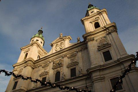 FOTKA - Adventní procházka po Salzburgu - Dom zu Salzburg