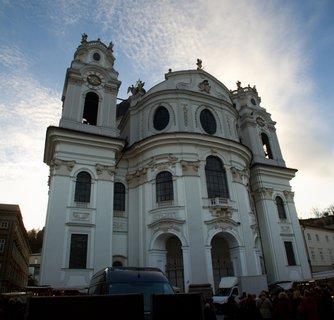 FOTKA - Adventní procházka po Salzburgu - Kollegienkirche