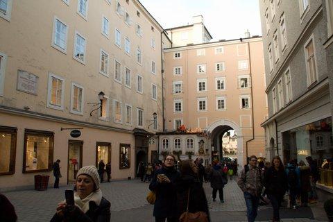 FOTKA - Adventní procházka po Salzburgu - V uličkách Salzburgu