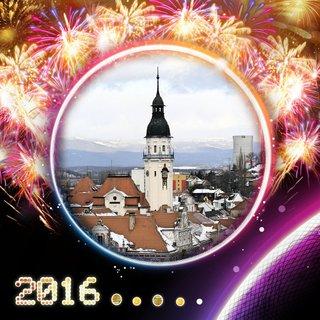 FOTKA - Šťastný nový rok 2016 Vám všem.