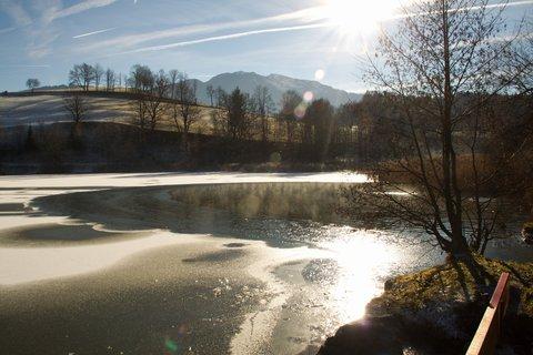 FOTKA - Jaro v prosinci na Ritzensee - Jezero