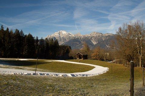 FOTKA - Jaro v prosinci na Ritzensee - Běžecká stopa