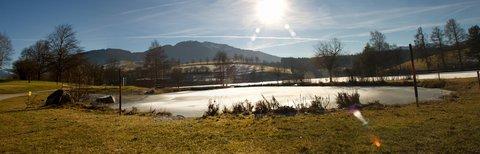 FOTKA - Jaro v prosinci na Ritzensee - Jezero Ritzensee