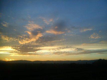FOTKA - pri západe slnka