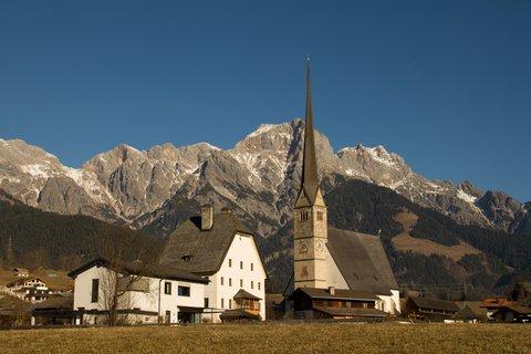 FOTKA - Procházka po Maria Alm - Kostel v Maria Alm