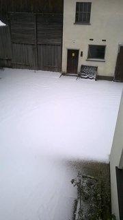 FOTKA - -kopa snehu
