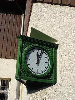 FOTKA - nádražní hodiny